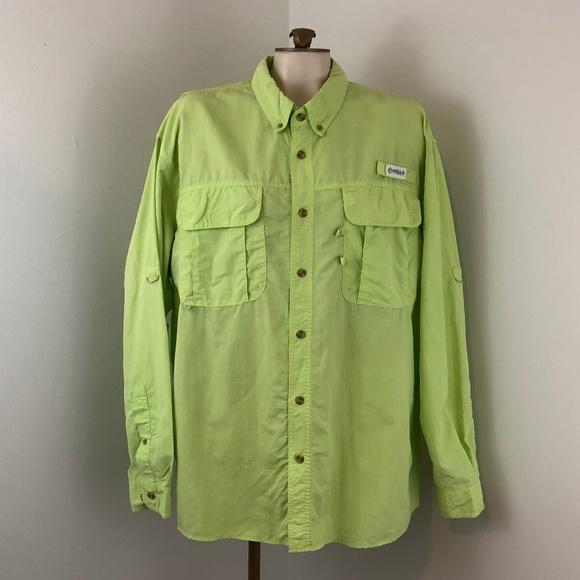 4856da02 Magellan Outdoors Shirts | Magellan Outdoor Fish Gear Green Long ...